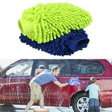 Car Wash Gloves 2PCS Microfiber Car Window Washing Home Cleaning Cloth Duster To