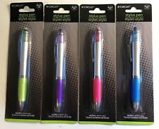 Pen Gem Stylus Blue Metallic Black Ink Touch Screen Glitter Sparkle New