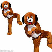 Puppy Dog Mascot Animal Big Head Fancy Dress Costume Adult One Sui Charity Sport