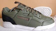 Green Leather Reebok Workout Plus Men's Size 9.5