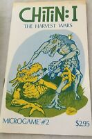 Chitin: #1 The Harvest Wars Microgame #2 Illustrated Board Game