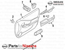 Genuine Nissan 2010-2012 Altima LH Driver Door Armrest Frost Color NEW OEM