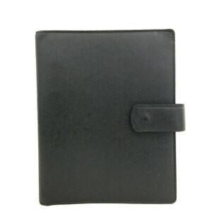 Louis Vuitton Taiga Agenda GM Ardoise Leather Notebook Cover /90525