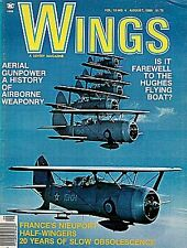 WINGS V10 N4 COLD WAR RAF V-FORCE HANDLEY PAGE VICTOR / HUGHES H-4 SPRUCE GOOSE