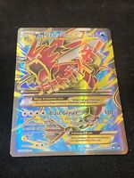 Pokemon Mega Gyarados EX Ultra Rare Full Art BREAKpoint 115/122