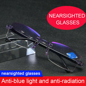 High Hardness Reading Glasses Anti-Blue Light Progressive Far And Near Dual-Use