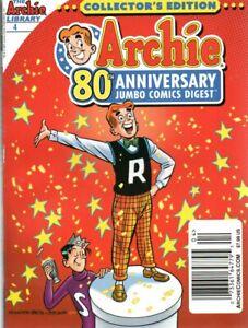 ARCHIE 80TH ANNIVERSARY JUMBO COMICS DIGEST No. 4 October 2021 Comic Book