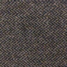 Brown and Tan Herringbone Flecked Wool Flannel Suiting - Heavy and Warm!!