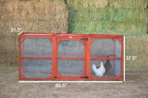 RUN EXTENSION Chicken Coop, Rabbit Cage, etc