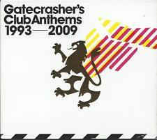 Gatecrasher's Club Anthems 1993-2009 - 60 Classic Club Anthems 3CD NEW/SEALED