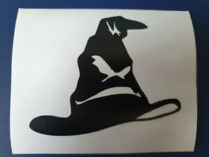 Harry Potter Inspired Sorting Hat VInyl Decal for phone tablet car wall Sticker
