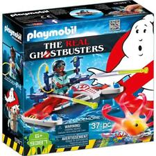 PLAYMOBIL THE REAL GHOSTBUSTERS ZEDDEMORE CON ACQUA SCOOTER