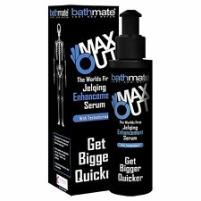 BATHMATE MAX OUT JELQING ENHANCEMENT SERUM LUBE 100 ml NEW