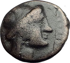ODESSOS in THRACE 281BC Authentic Ancient Greek Coin w YOUTH & GREAT GOD i62635