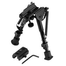 Tactical Bipod Rifle Mount Adjustable Spring Return Picatinny Hunting Sniper New