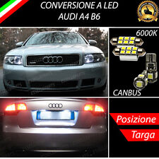 LUCI POSIZIONE A LED + LUCI TARGA A LED CANBUS AUDI A4 B6 NO ERROR