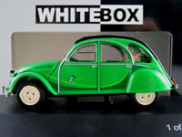 "WhiteBox WB184 Citroen 2CV (1986) ""I Fly Bleifrei"" in grün 1:43 NEU/OVP"