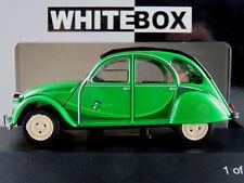 "WhiteBox WB184 Citroen 2CV (19860) ""I Fly Bleifrei"" in grün 1:43 NEU/OVP"