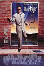 THE PLAYER Movie POSTER 27x40 B Michael Tolkin Louise Fletcher Dennis Franz