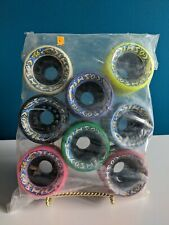 Cosmic Speed Skate Wheels 95A By Rc Sports Multicolored Nos 62mm Skateboard Long