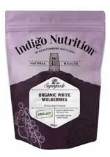 Organic White Mulberries 500g Dried Fruits - Indigo Herbs
