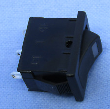 Philmore 30 10083 Spst Off On Red Led Lighted Snap In Rocker Switch 6a125v