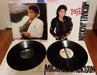Michael Jackson Vinyl Lp Lot Of 2 Original OG Thriller & BAD Epic Records