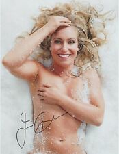 Jamie Anderson (Full Nude) Gold Medal Winner Pro Snowboarder RARE SIGNED RP 8x10