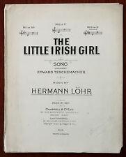 Little irish girl by Hermann Lohr – PUB. 1903
