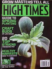 High Time Magazine May 2019 Weed Marijuana Cannabis Hemp