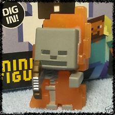 Minecraft Blind Box Figures Ice Series 5 - SKELETON IN FLAMES - New - OOP