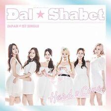 Dal shabet Hard 2 Love Regular Edition CD Japan J-POP Japanese