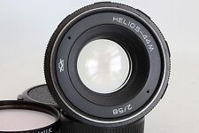 HELIOS 44M 58 MM 1:2.0 STANDARD LENS M42 FIT GOOD CONDITION + FILTER (USED)