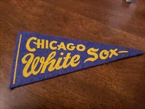1950s Chicago White Sox mini pennant nice!