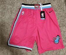 Brand New Nike NBA 2019-2020 Miami Heat Vice City Edition Swingman Shorts L