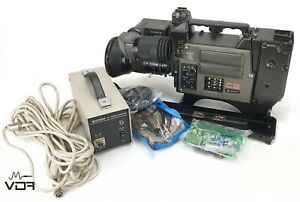 HITACHI CA-C2 Broadcasting Camera w/ Flightcase + Fujinon Eagle II TV-Z TA-C1