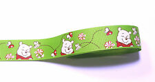 "Minnie iconos de alimentos Cinta del Grosgrain 75mm 38mm 3/"" 1.5/"" anchos Buy 4 Get 5th Gratis"