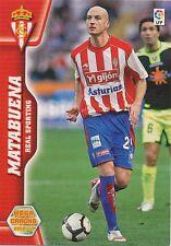 N°298 MATABUENA # SPORTING GIJON CARD PANINI MEGA CRACKS LIGA 2011