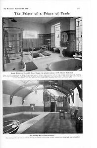 1905 Imprimé Kennyhill Maison Glasgow Hinshelwood Romain Et
