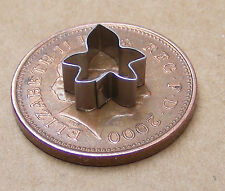 METAL IVY LEAF CLAY CUTTER DOLLS HOUSE miniatura Accessorio Sugarcraft
