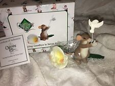 "Charming Tails ""Saying Goodbye Is Never Easy"" Dean Griff Nib"
