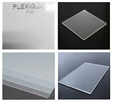 """Acrylic Perspex Frosted Sheet Plastic Panel Material A5 A4 A3 .250"""" x 12"""" x 48"""""""