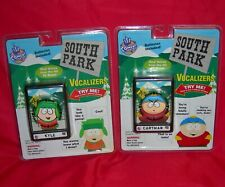 1998 Comedy Central South Park Kyle Cartman Vocalizer Lot of 2 New Talking Works
