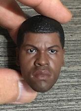 Custom 1/6 Scale Finn Head Sculpt For Star War Costume Hot Toys Figure Body