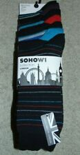 ~7 NWT Men's SOHOW1 Collection Dress Socks! Size L 8-12 Nice!