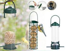 3pcs Heritage Wild Bird Hanging Seed Feeder Peanut Feed Fat Ball Feeders Garden