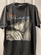 Vintage Clint Black No Time To Kill Tultex Black T Shirt Men's Large