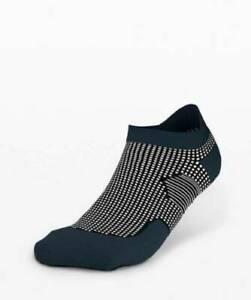 Lululemon Men's T.H.E. Tab Sock Silver TRNV/SILD True Navy Silve Drop