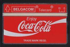 Coca Cola Belgium Belgacom 5 units mint Landis & Gyr 1,000 issued