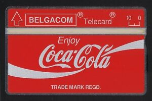 Coca Cola Belgium Belgacom 5 units mint Landis & Gyr 1,000 issued